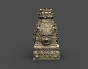 low-poly Angkor Wat Games res model 04