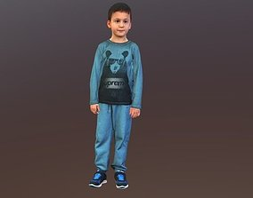 3D young No132 - Boy Standing