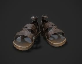 Sandals Shoes 3D model