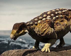 EuropeltaSaurus 3D Rigged model rigged