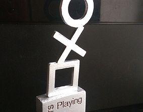 3D print model PS4 fan award