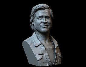 Brad Pitt from Once Upon a Time in 3D print model