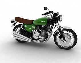 3D Benelli 750 Sei 1976