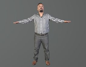 Rt103 - Male A-Pose T-Pose 3D model