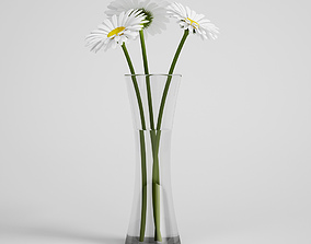 CGAxis flower 3D decorativ