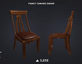 3D model Fancy Dining Chair