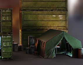 Military Essential Collection PBR 3D model realtime