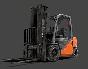Forklift High-Poly 3D models PBR