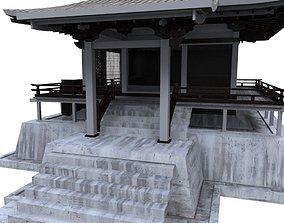 oriental house 3D asset