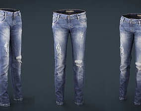 Ripped Jeans 3D model