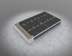 3D asset EDDB Technical Building 6