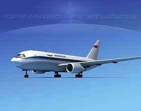 Boeing 767-200ER Aeroflot 3D
