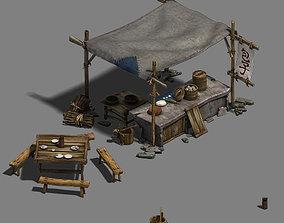 Medium City - Booth 4 3D