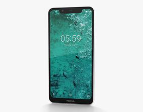 Nokia 5-1 Plus Glacier White 3D