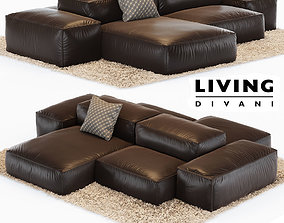 3D asset Sofa Extrasoft
