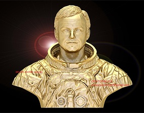 1005 Astronaut Bust Model File
