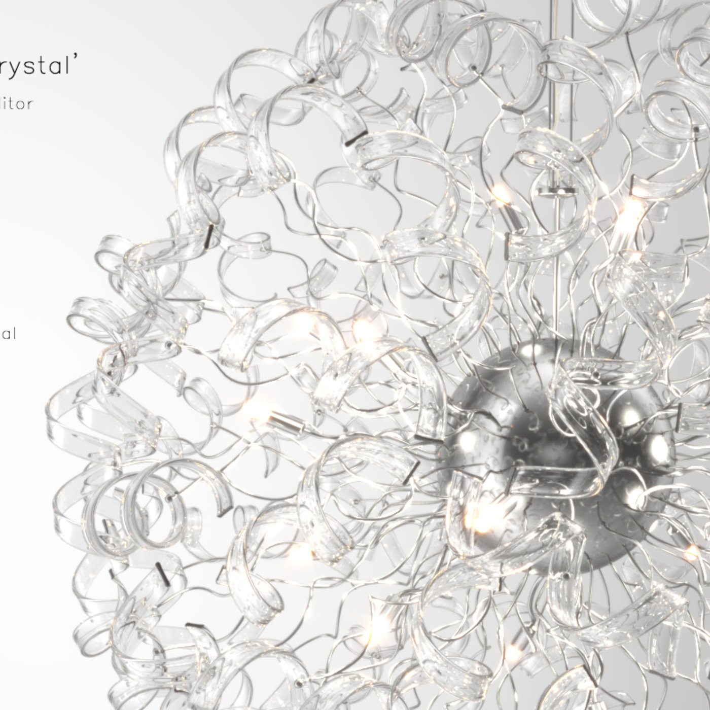 Crystal Chandelier Astro