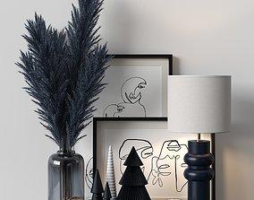 Decorative sets 20 3D asset