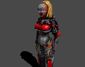 Sexy Medic EMTmerci 3D model