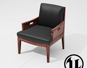 3D model Flexform Betty Chair UE4
