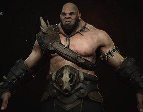 3D model Orc Berserk Tarkoman