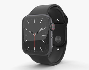 Apple Watch Series 5 44mm Space Gray Aluminum Case with 3D