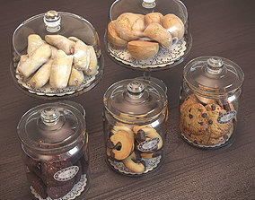 3D Cookies in Glass Jars