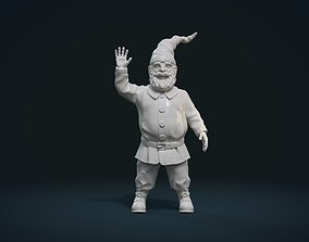 fairy 3D printable model Garden Gnome II