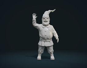 fairy 3D printable model Garden Gnome II