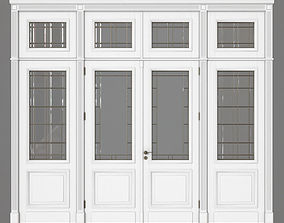 3D model classic interior Door
