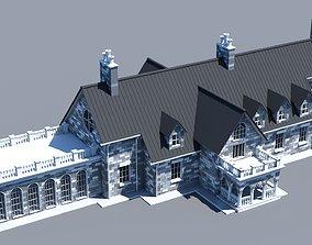 3D model Mansion 01 architecture