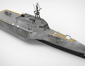 Landing Craft Ship 3D
