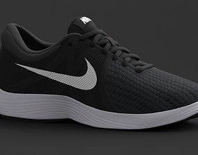 3D model NIKE Womens Revolution 4 Running Sneakers from 1