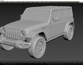 3D print model Jeep Wrangler Unlimited 2019