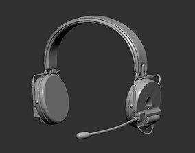 Headphones 3D print model