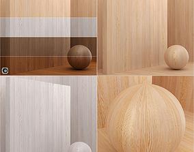 3D Wood material Larch veneer seamless