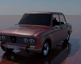 3D Russin classic car VAZ 2103