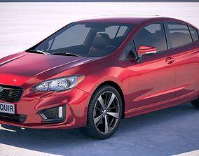 Subaru Impreza 2017 3D model
