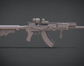 3D print model Modern AK Sopmod