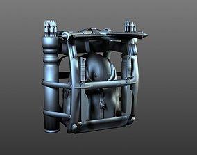 Low-Poly survival kit bundle 3D asset