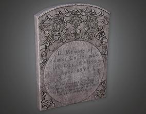 Cemetery Grave 1 CEM - PBR Game Ready 3D asset