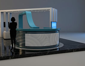 3D model Exhibition Stand expo