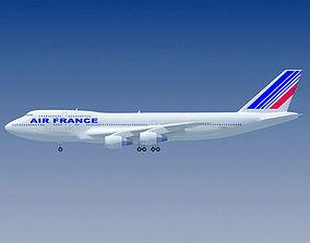 3D model Air France