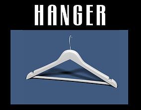 3D model Clothes hanger 01