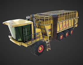 3D JPS Big loading wagon game-ready