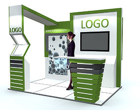 Exhibition Stand 3D rollup