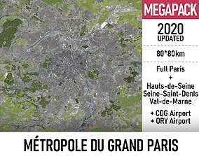3D Grand Paris - full metropolitan area