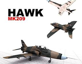 3D model BAE HAWK MK 209