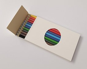 3D model Colour pencil