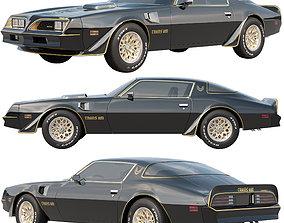 3D Pontiac Firebird Trans Am 1977